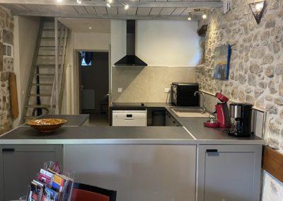 cuisine +escalier Saphir